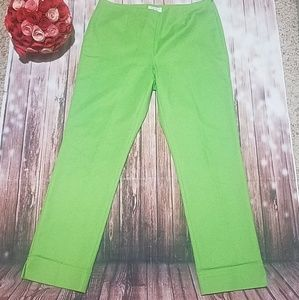 Charter Club Green Cropped Pants